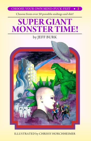 """New """"Choose Your Own Adventure"""" parody: Super Giant Monster"""